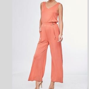 Side Buckle Jumpsuit~New Arrival